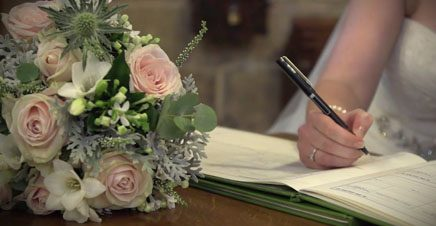A Wedding Video from Bolton Abbey Priory and The Devonshire Fell