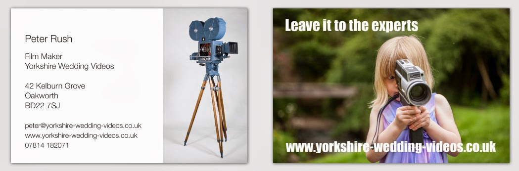 Yorkshire Wedding Videos - Harrogate and nearby wedding video samples