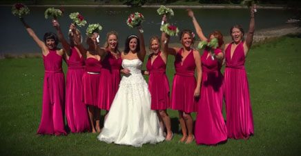 A Wedding Video from Oakworth Church and The Coniston Hotel