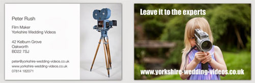 Yorkshire Wedding Videos - Creative and stylish wedding videography - Professional yet unobtrusive coverage of your special day.