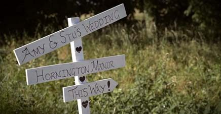 A Wedding Video from Hornington Manor near York