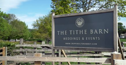 A Wedding Video from Tithe Barn in Bolton Abbey
