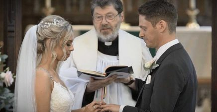 A wedding video trailer from Bingley Parish Church and Hollins Hall